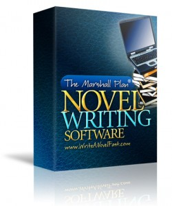 Marshall Plan for Novel Writing Software